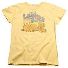 """Checkout our #LicensedGear products FREE SHIPPING + 10% OFF Coupon Code """"Official"""" Garfield / Rad Garfield-short Sleeve Women's Tee-banana-sm - Garfield / Rad Garfield-short Sleeve Women's Tee-banana-sm - Price: $29.99. Buy now at https://officiallylicensedgear.com/garfield-rad-garfield-short-sleeve-women-s-tee-banana-sm"""