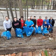 Instagram user @incredible_man93 is with TKE as they help clean up Frostburg! #instaFrostburg