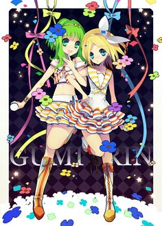 Rin & GUMI  Anyone know the name of this song?