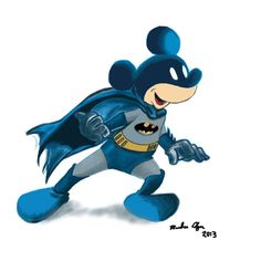 Batman Mikey!😬(not my art/photo)