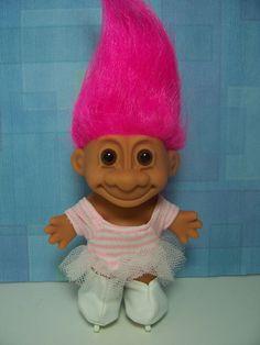 "ICE SKATER - 5"" Russ Troll Doll - NEW IN ORIGINAL WRAPPER   Dolls & Bears, Dolls, By Type   eBay!"