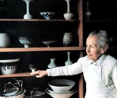Lucie Rie and  her pots