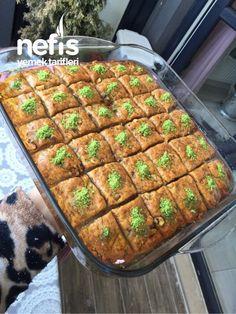 Ben Deyim Şekerpare Siz Deyin Baklava - Nefis Yemek Tarifleri - #7350695 Chrome Nails Designs, Peach Nails, Yummy Food, Delicious Recipes, Beef, Zucchini, Canning, Vegetables, Desserts