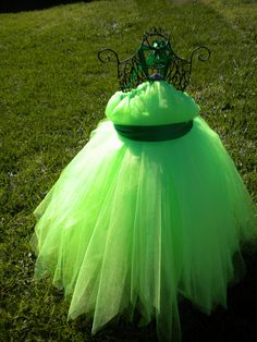 Wouldn't be hard to make. Tinkerbell fairy disney princess  costume Tutu by THESWANKPRINCESS, $40.00