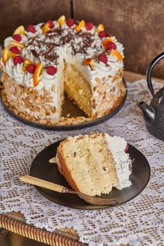 No Bake Cake, Camembert Cheese, Breakfast Recipes, Sweet Treats, Dairy, Pie, Sweets, Baking, Food