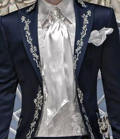 Italian wedding suits, model: B08-(430) Hopefully, my groom will agree to wear this. <3