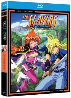 Slayers Season 4-5 Blu-ray Set (Hyb) (Revolution/Evolution-R) - Anime Classics - Price: $21.99