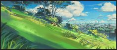 """""""RUDI"""" Background, Mateusz Urbanowicz on ArtStation at http://www.artstation.com/artwork/rudi-background-485febf5-0489-4f1c-a43f-922a8e6d3fa4"""