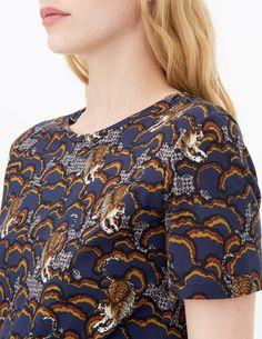 T-Shirt Wave - T-shirts - Sandro Paris