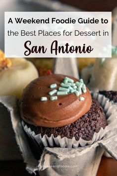 Life is Uncertain. Eat Dessert First. This is a list of the best places for dessert in San Antonio to satisfy anyone's sugar cravings.