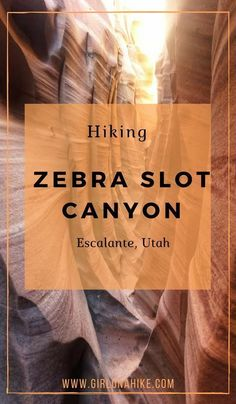 Hiking Zebra Slot Canyon, Hiking Utah's best slot canyons, Hiking in Grand Staircase Escalante National Monument Slot Canyon, Bryce Canyon, Grand Canyon, Escalante Utah, Escalante National Monument, Grand Staircase National Monument, Moab Utah, Utah Usa, Death Valley