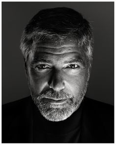 Amazing portrait of George Clooney by Marco Grob.  Fantastic lighting. #photography