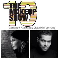 """New York are you ready? We are kicking off The Makeup Show's 10 years anniversary with two can't miss Keynotes! Don't miss Ellis Faas bring her keynote """"Signature Style"""" from the main stage in LA to the main stage in NYC, and In his first keynote for The Makeup Show, Celebrity Makeup Artist Derrick Rutledge will share his experiences and insight in his keynote """"Inspiration in Artistry"""". Don't miss the show that has the beauty community a buzz, get your advanced tix to The Makeup Show NYC…"""