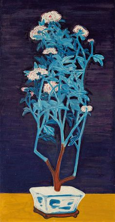 SANYU, Potted Chrysanthemums