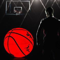 Perfect and unique gift: Glowing city LED light basketball is a perfect gift for all ages. We have heard a lot of wonderful stories from basketball players who have tried our LED basketball. entire basketball with brilliant red light. Basketball Games For Kids, Basketball Quotes, Basketball Pictures, Basketball Teams, College Basketball, Basketball Bedroom, Video Game Quotes, Hangout Room, Xmax