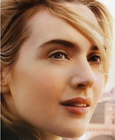 Kate Winslet, my vote for the most beautiful woman on the planet.