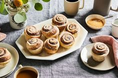 Violet Bakery's Cinnamon Buns -  If you can make scones (or muffins or banana bread), you can make these sparkly, gloriously poufed cinnamon rolls—no waiting for yeast to do its thing.
