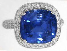 Ceylon Sapphire Rings (GR-5876)
