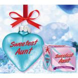 A special ornament for your Aunt.