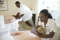 Couples Bliss: Spend some relaxing time as newly weds, take in a couples massage in one of our Gingerbread Trimmed Treatment Cottages, we recommend the Nevisian Massage.