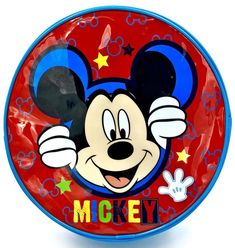Disney Mickey Mouse Round Bag Lunch School Carry Case Book Bag Non Insulated Round Bag, Kids Bags, School Lunch, Disney Mickey Mouse, Bag Sale, Kids Outfits, Books, Sparkle Wallpaper, School Lunch Food