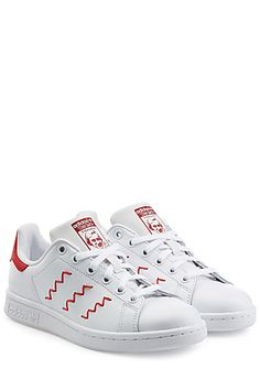 Add+a+touch+of+urban+prep+to+casual+looks+with+Adidas+Originals'+iconic+leather+sneakers+#Stylebop $105