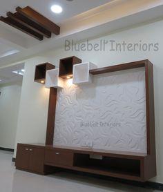 Living Room Partition Design, Living Room Tv Unit Designs, Wall Unit Designs, Room Partition Designs, Tv Unit Decor, Tv Wall Decor, Wall Tv, Lcd Wall Design, Ceiling Design
