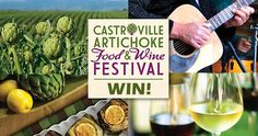 Win a Trip To The Castroville Food & Wine Festival