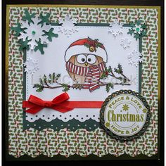 Welcome to LC Designs Cricut, Christmas Owls, Little Designs, Design Blog, Cute Creatures, Peace And Love, Advent Calendar, Christmas Cards, Projects To Try