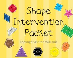 Extra help for kids having a hard time with shapes