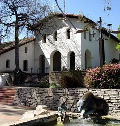 Mission San Luis Obispo - California love all our missions but this one my fave because i got my godparents here <3