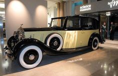Rolls-Royce Phantom III from Goldfinger.  Owned by Auric Goldfinger, driven by his chaffeur / bodyguard and the greatest James Bond henchman of all time, Oddjob.