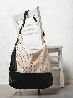 Simply Vegan FP Olivia Perforated Hobo at Free People Clothing Boutique