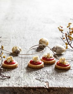 Santa's Lemon Berry Popcorn Cookies | Little Rusted Ladle Recipe development & Food Styling by Jim Rude Photography and Set Styling by Jena Carlin