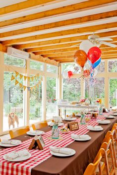 Baby q shower on pinterest baby showers red gingham and for Baby shower bbq decoration ideas