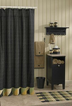 1000 Images About Country Bath On Pinterest Primitive Bathroom Decor Shower Curtains And Bath