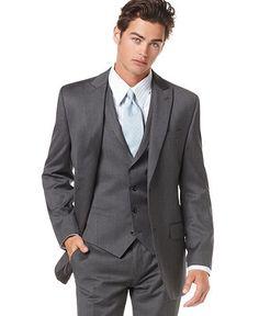 Jason: gray suit, blue shirt, navy tie | Saying I DO! | Pinterest ...