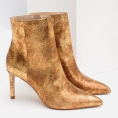 Zara Leather Boots Brand new. Genuine leather. 37 euro size. Zara Shoes Ankle Boots & Booties