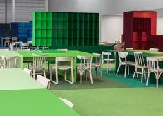 Social 01 office interior by i29 // #bafco #bafcointeriors Visit www.bafco.com for more inspirations.