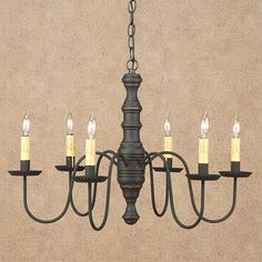 Rustic Style Wood Chandeliers