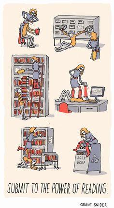 La bibliotecaria castigadora!
