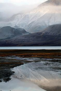 Iceland -- I've seen so many pictures of Iceland. Such diverse country... Always looks like it feels cold and damp.