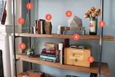 Build and Decorate a Bookshelf with These 8 Creative Ideas