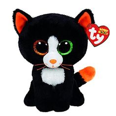 Ty Beanie Boos-Frights The Cat! 2015 New Halloween Beanie Boos Ty Beanie Boos, Beanie Babies, Ty Babies, Baby Kids, Ty Animals, Ty Stuffed Animals, Stuffed Toys, Halloween Beanie Boos, Ty Peluche
