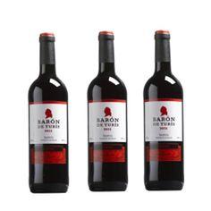 Vin Baron De Turis rouge 75 Cl - LOT DE 3