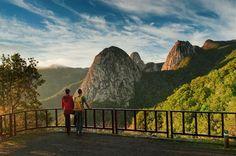Vista desde el Mirador de Los Roques, en la isla de La Gomera