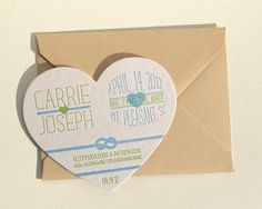Invitations by Cleanwash Letterpress