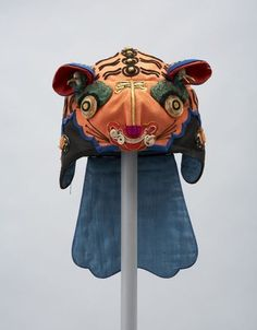 Chinese Festival Hat 1870 - 1960 Textile Museum of Canada