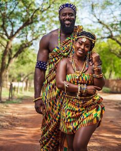 African Traditional Wedding, African Traditional Dresses, African Men Fashion, African Beauty, African Girl, African Style, Couple Noir, Ethno Style, Black Couples