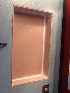 How to turn old medicine cabinet into open shelving | Open ...